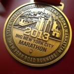 ING NYC Marathon Finisher Medal