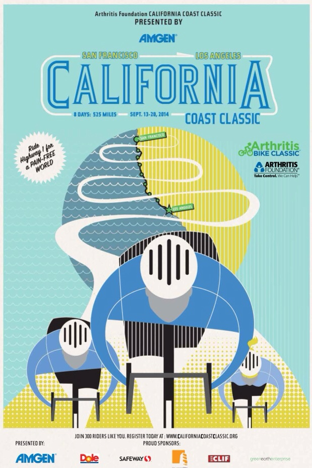 California Coast Classic 2014 Poster