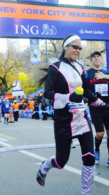 NYC Marathon Pic