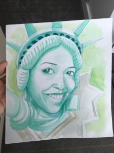 New York Theme Birthday Card from Kadir