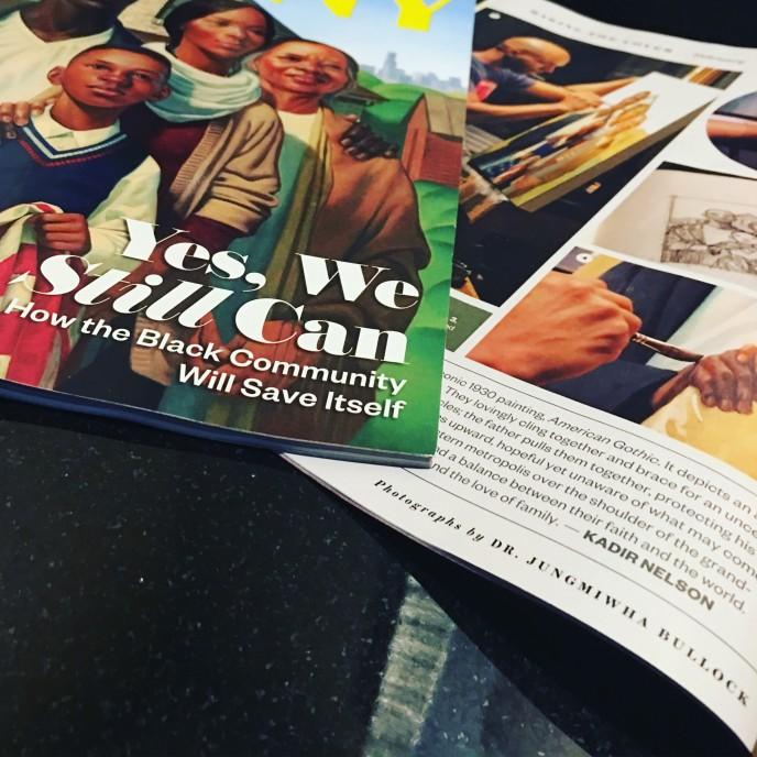 Ebony Feb 2017 Cover and Interior