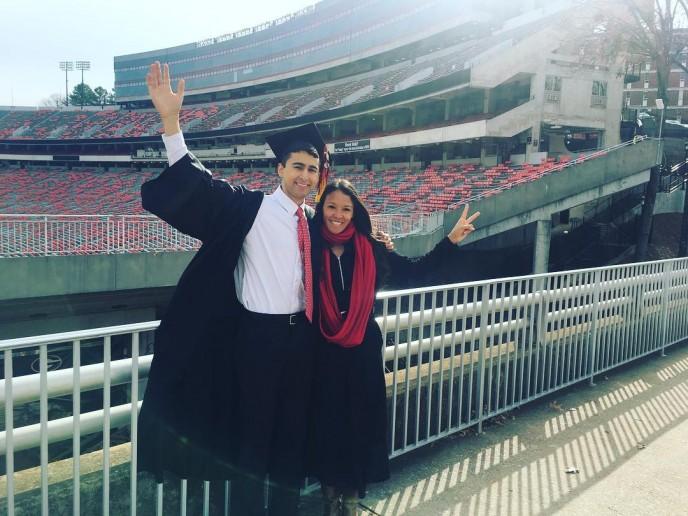 Caleb's Graduation